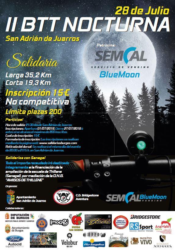II BTT Nocturna Solidaria SEMCAL BLUE MOON