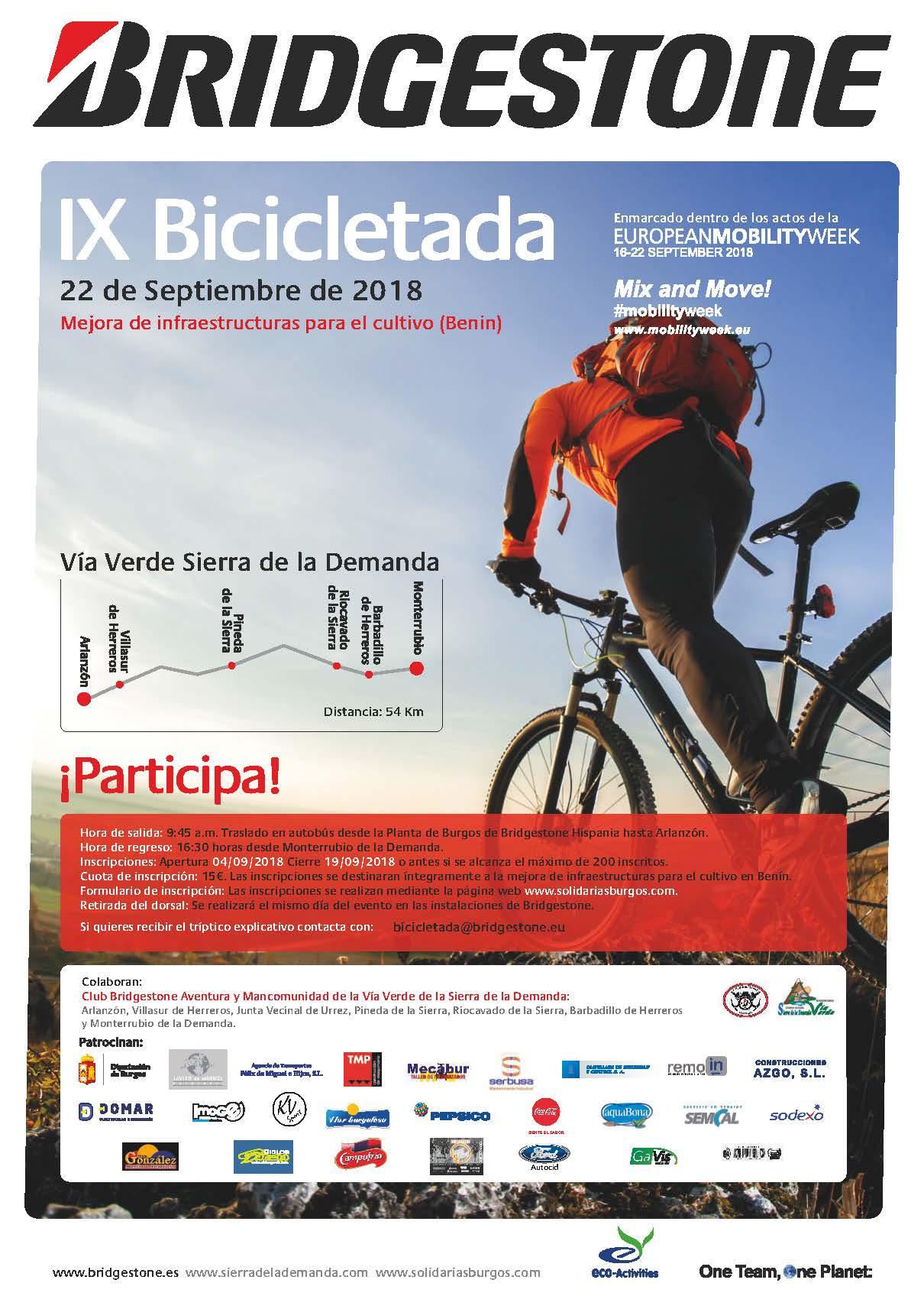 IX Bicicletada Bridgestone