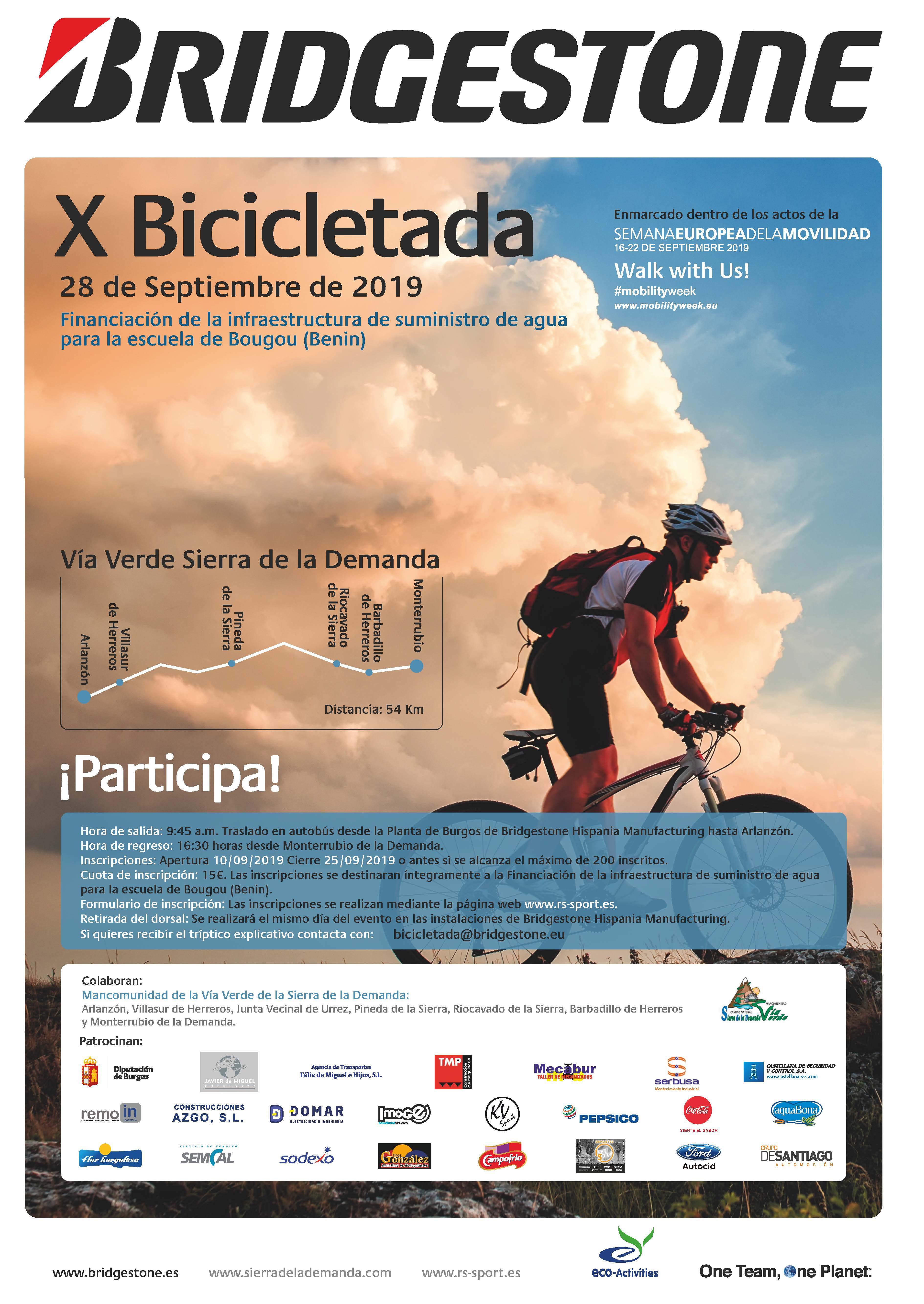 X Bicicletada Bridgestone