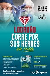 Carrera Solidaria: Logroño corre por sus Héroes