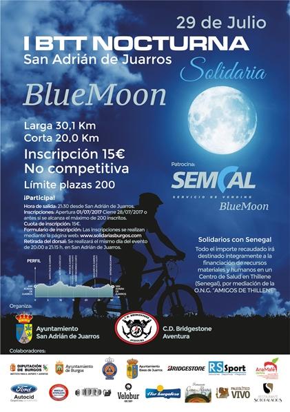 I BTT Nocturna Solidaria SEMCAL BLUE MOON
